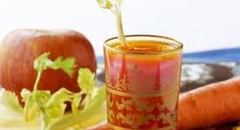 Καρότο, μήλο και τζίντζερ